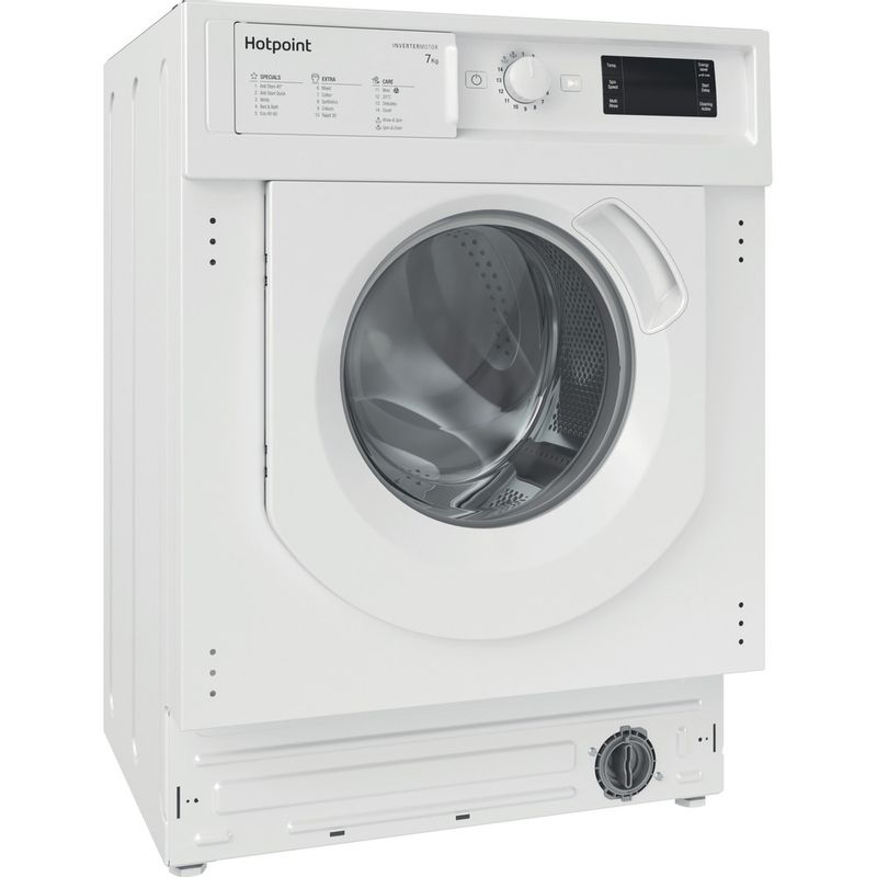 Hotpoint-Washing-machine-Built-in-BI-WMHG-71483-UK-N-White-Front-loader-D-Perspective