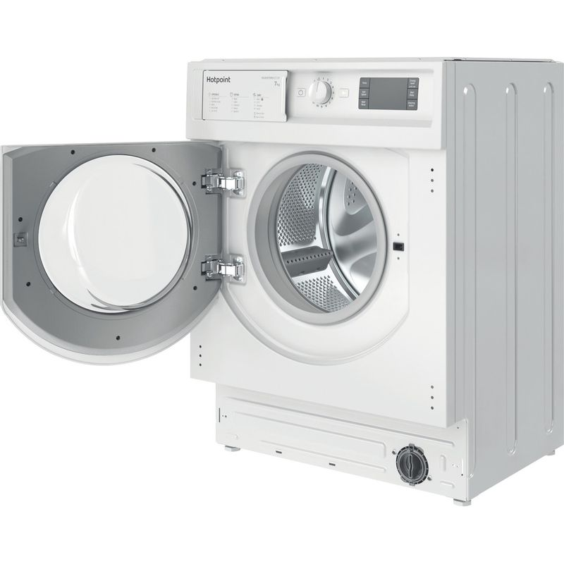 Hotpoint-Washing-machine-Built-in-BI-WMHG-71483-UK-N-White-Front-loader-D-Perspective-open
