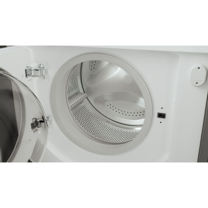 Hotpoint-Washing-machine-Built-in-BI-WMHG-71483-UK-N-White-Front-loader-D-Drum