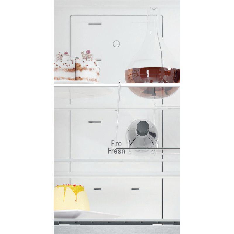 Hotpoint-Fridge-Freezer-Free-standing-NFFUD-191-X-1-Optic-Inox-2-doors-Drawer