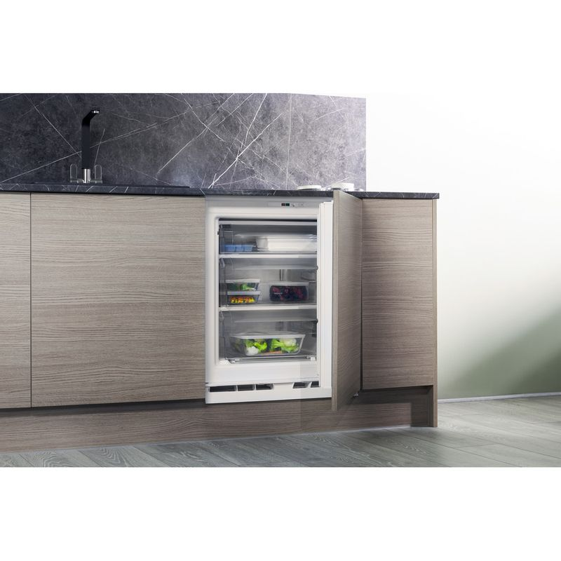 Hotpoint-Freezer-Built-in-HZ-A1.UK-1-Steel-Lifestyle-perspective-open