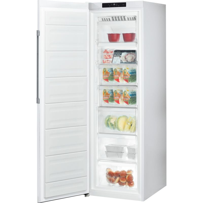 Hotpoint-Freezer-Free-standing-UH8-F1C-W-UK-1-Global-white-Perspective-open