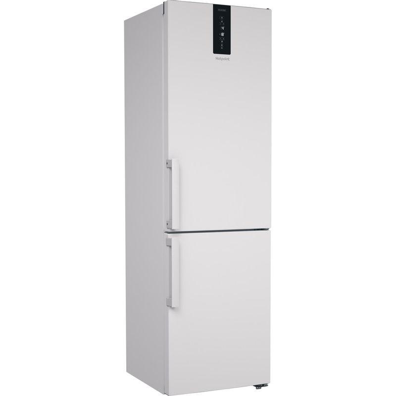 Hotpoint-Fridge-Freezer-Free-standing-H7NT-911T-W-H-1-Mirror-Inox-2-doors-Perspective