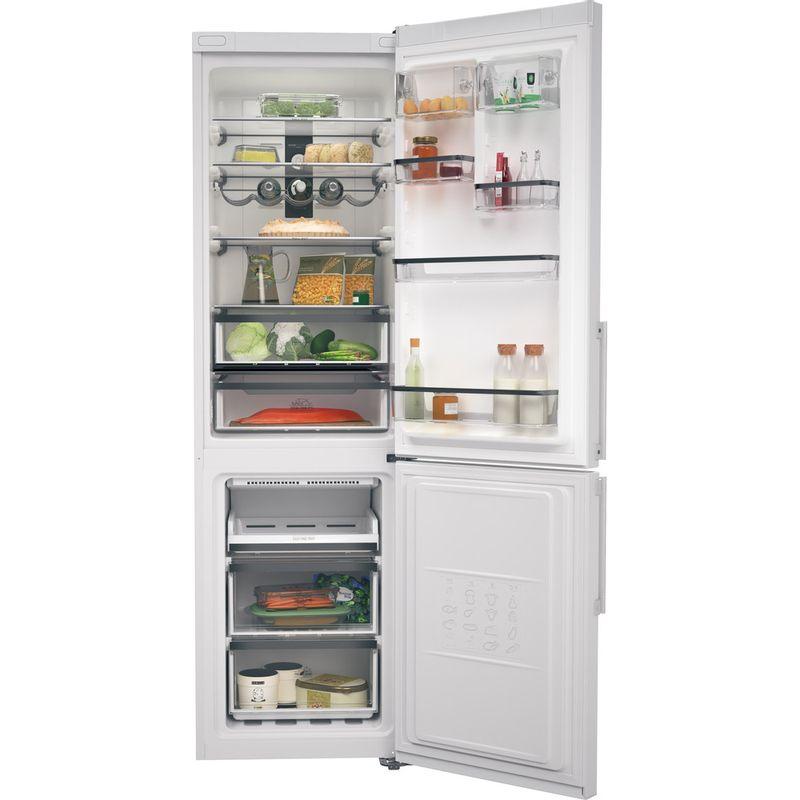 Hotpoint-Fridge-Freezer-Free-standing-H7NT-911T-W-H-1-Mirror-Inox-2-doors-Frontal-open