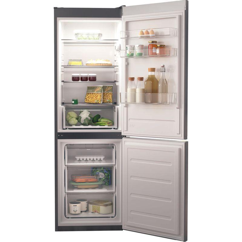Hotpoint-Fridge-Freezer-Free-standing-H1NT-811E-OX-1-Global-white-2-doors-Frontal-open