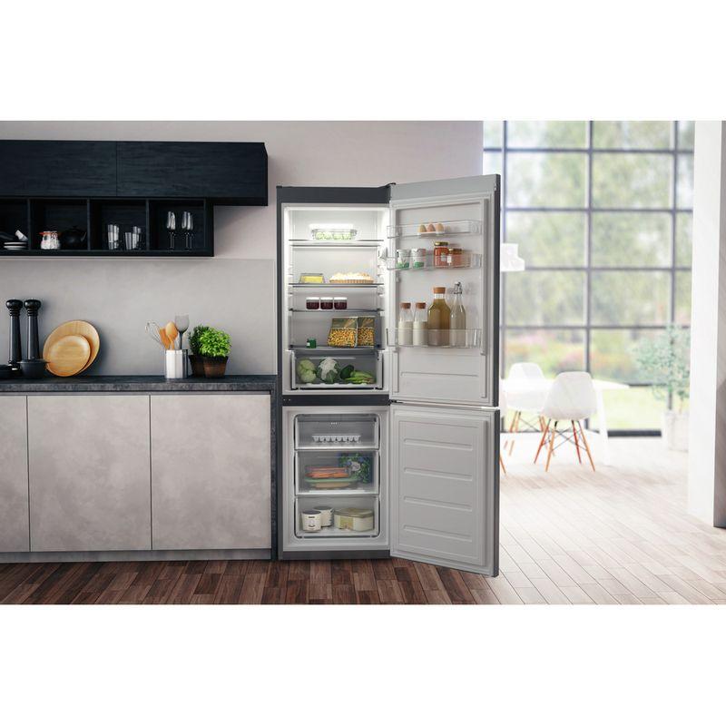 Hotpoint-Fridge-Freezer-Free-standing-H1NT-811E-OX-1-Global-white-2-doors-Lifestyle-frontal-open