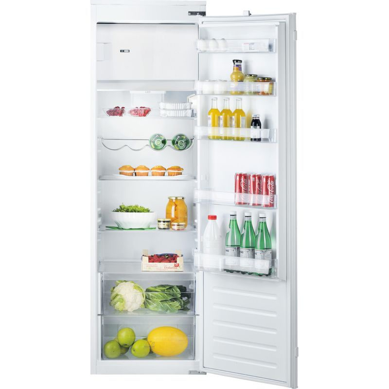 Hotpoint-Refrigerator-Built-in-HSZ-18011-UK-White-Frontal-open