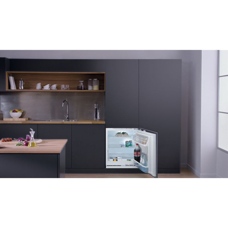 Hotpoint-Refrigerator-Built-in-HL-A1.UK-1-Steel-Lifestyle-frontal-open
