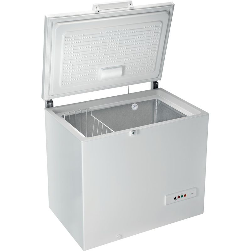 Hotpoint-Freezer-Free-standing-CS1A-250-H-FA-1-White-Perspective-open