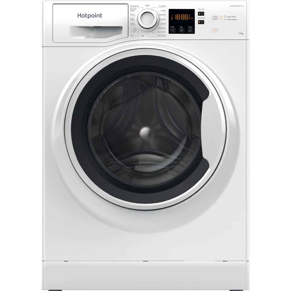Hotpoint Freestanding Washing Machine NSWA 1043C WW UK N : discover the specifications of our home appliances and bring the innovation into your house and family.