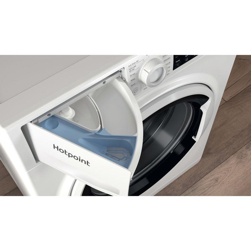 Hotpoint-Washing-machine-Free-standing-NSWA-1043C-WW-UK-N-White-Front-loader-D-Drawer