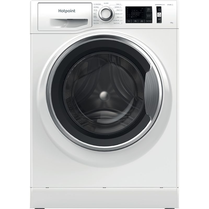 Hotpoint-Washing-machine-Free-standing-NM11-1064-WC-A-UK-N-White-Front-loader-C-Frontal