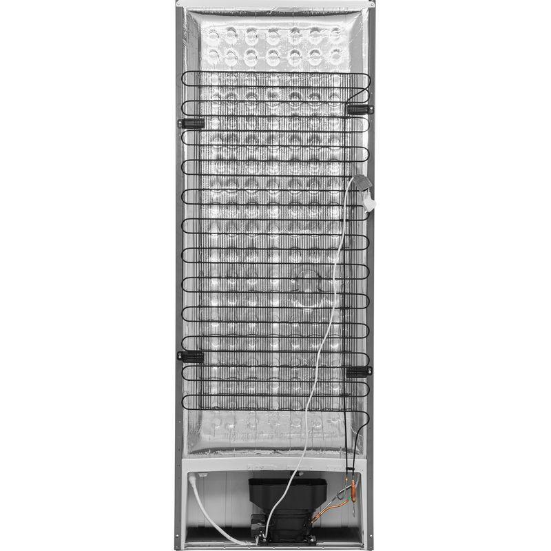 Hotpoint-Fridge-Freezer-Free-standing-FFU3D-X-1-Inox-3-doors-Back---Lateral