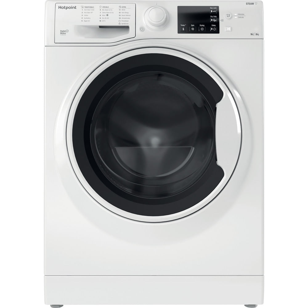 Hotpoint Freestanding Washer Dryer RDG 9643 W UK N : discover the specifications of our home appliances and bring the innovation into your house and family.
