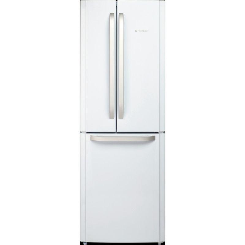 Hotpoint-Fridge-Freezer-Free-standing-FFU3D-W-1-White-3-doors-Frontal