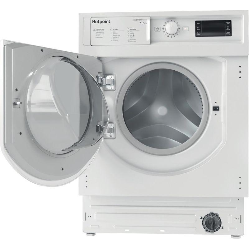 Hotpoint-Washer-dryer-Built-in-BI-WDHG-75148-UK-N-White-Front-loader-Frontal-open