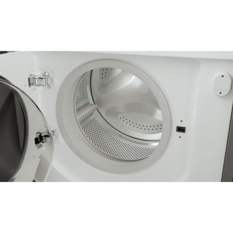 Hotpoint-Washer-dryer-Built-in-BI-WDHG-75148-UK-N-White-Front-loader-Drum
