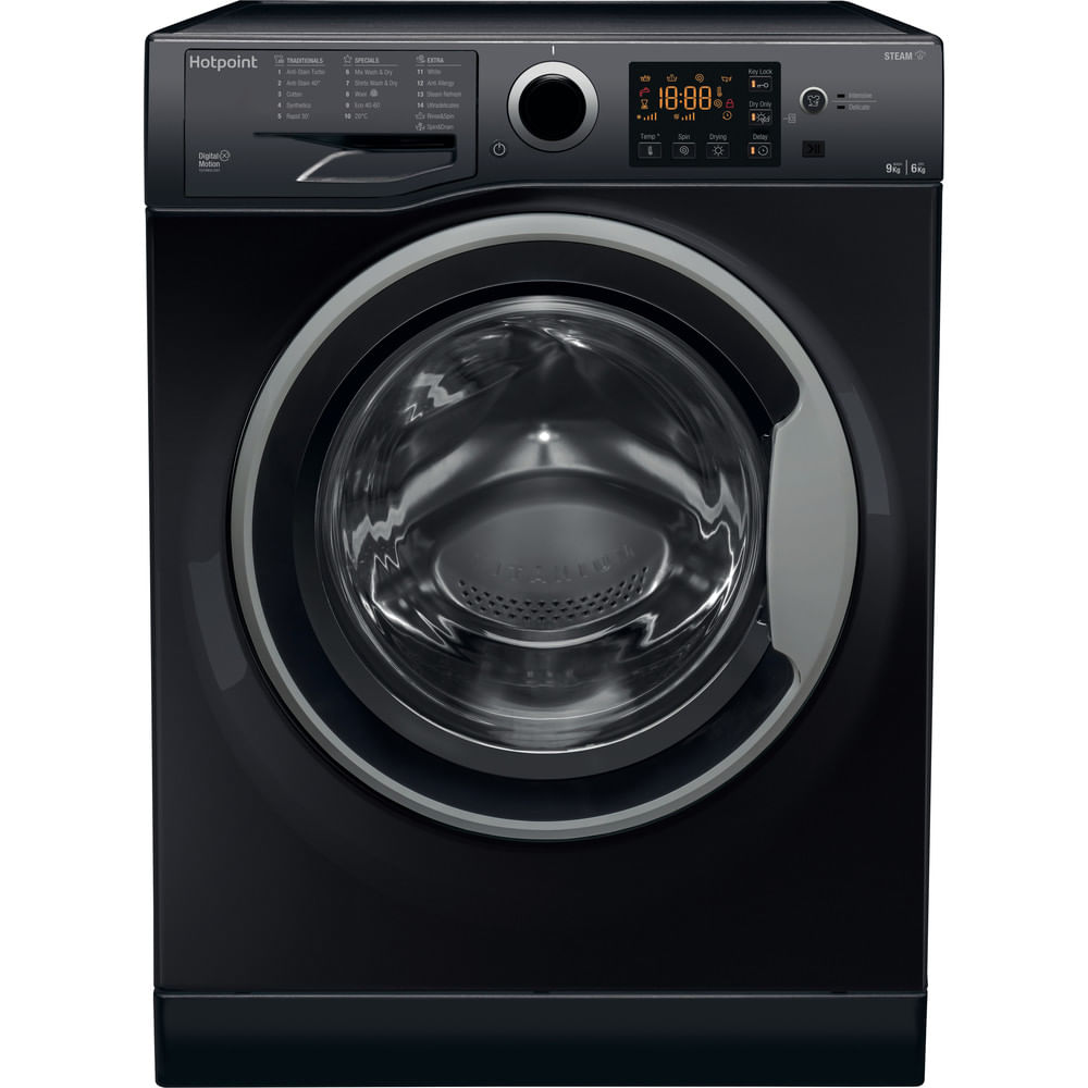 Hotpoint Freestanding Washer Dryer RDGR 9662 KS UK N : discover the specifications of our home appliances and bring the innovation into your house and family.