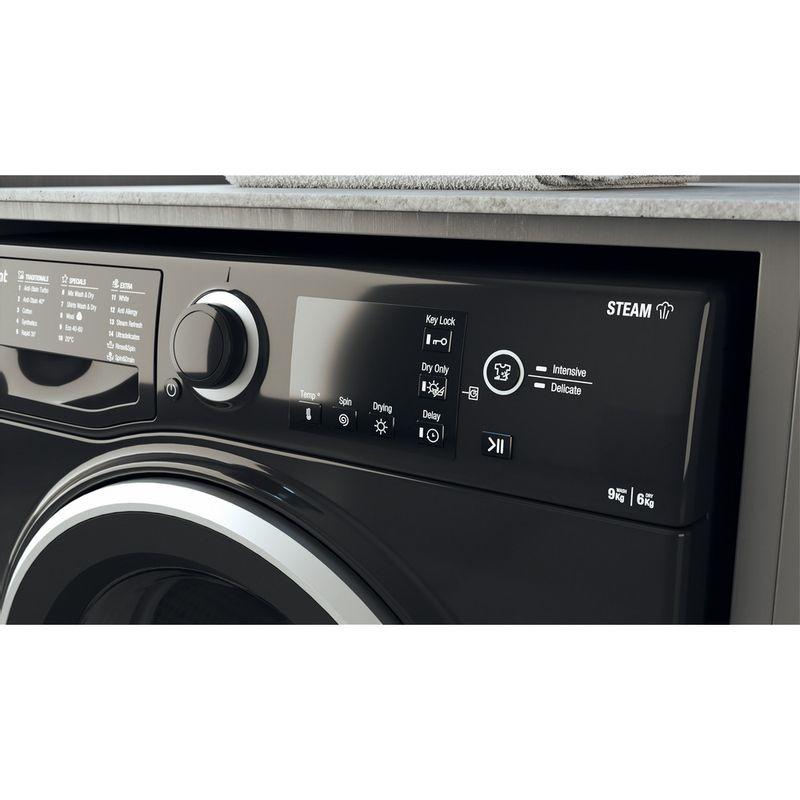 Hotpoint-Washer-dryer-Free-standing-RDGR-9662-KS-UK-N-Black-Front-loader-Lifestyle-control-panel