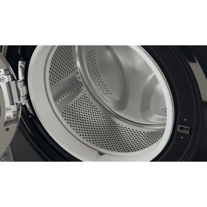 Hotpoint-Washer-dryer-Free-standing-RDGR-9662-KS-UK-N-Black-Front-loader-Drum