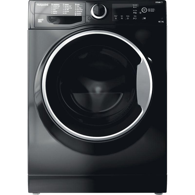 Hotpoint-Washer-dryer-Free-standing-RDG-9643-KS-UK-N-White-Front-loader-Frontal