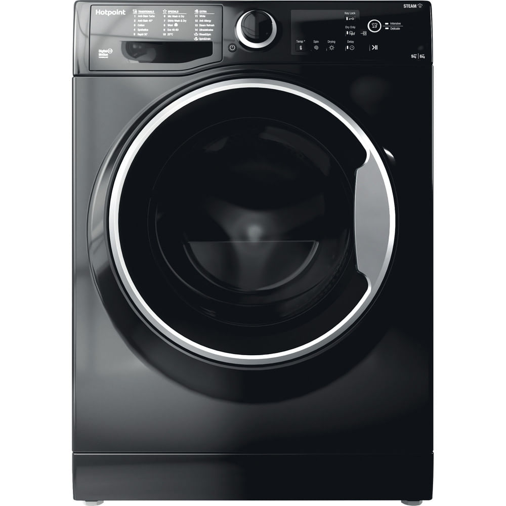 Hotpoint Freestanding Washer Dryer RDG 9643 KS UK N : discover the specifications of our home appliances and bring the innovation into your house and family.