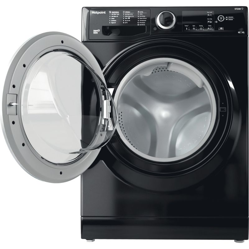 Hotpoint-Washer-dryer-Free-standing-RDG-9643-KS-UK-N-White-Front-loader-Frontal-open