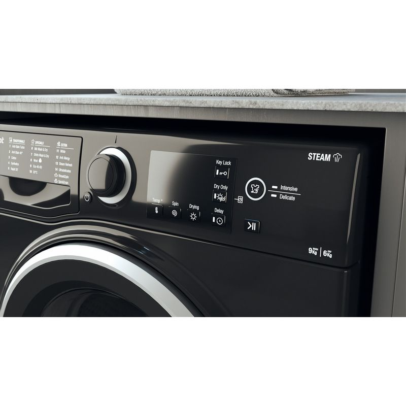 Hotpoint-Washer-dryer-Free-standing-RDG-9643-KS-UK-N-White-Front-loader-Lifestyle-control-panel