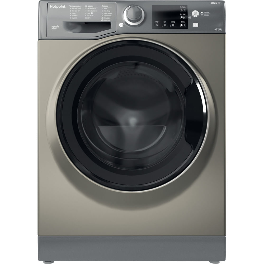 Hotpoint Freestanding Washer Dryer RDG 9643 GK UK N : discover the specifications of our home appliances and bring the innovation into your house and family.