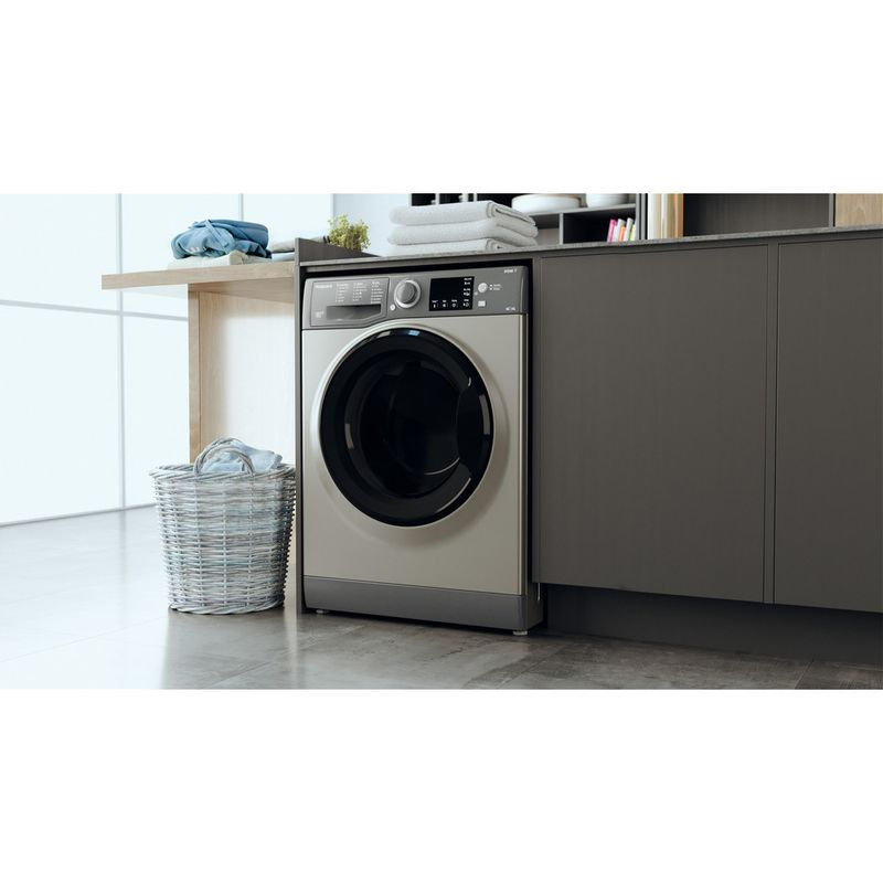 Hotpoint-Washer-dryer-Free-standing-RDG-9643-GK-UK-N-Graphite-Front-loader-Lifestyle-perspective