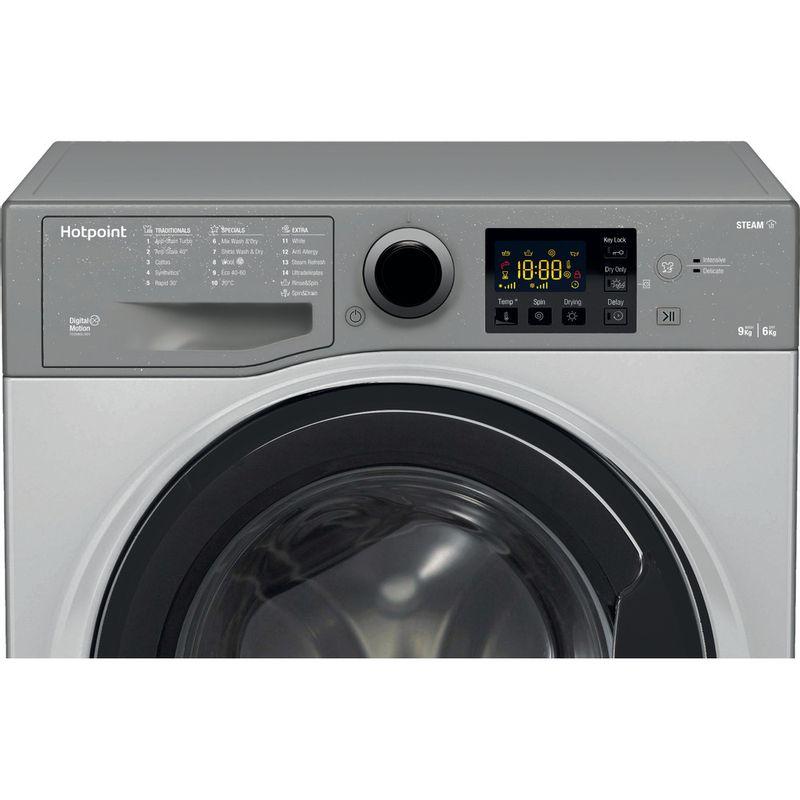 Hotpoint-Washer-dryer-Free-standing-RDG-9643-GK-UK-N-Graphite-Front-loader-Control-panel