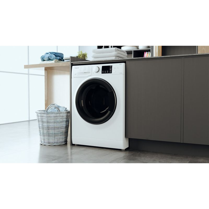 Hotpoint-Washer-dryer-Free-standing-RD-964-JD-UK-N-White-Front-loader-Lifestyle-perspective