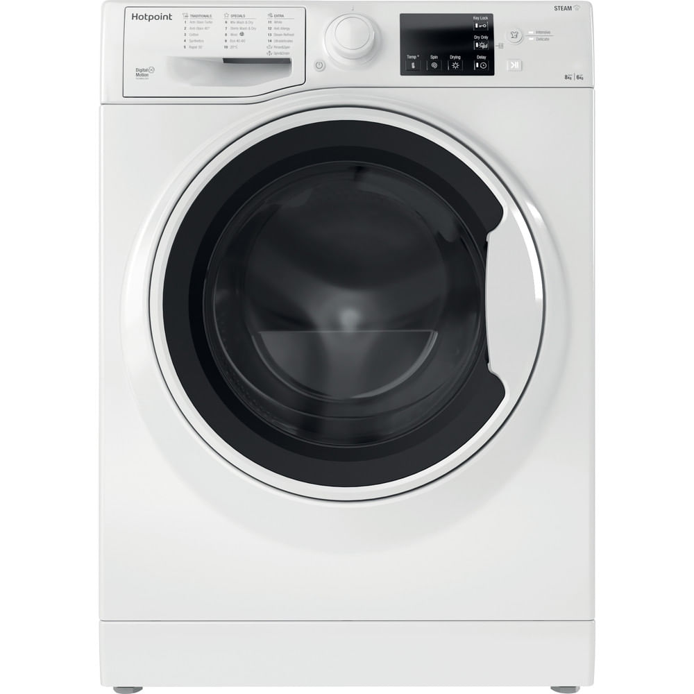 Hotpoint Freestanding Washer Dryer RDG 8643 WW UK N : discover the specifications of our home appliances and bring the innovation into your house and family.