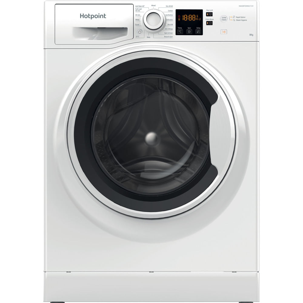 Hotpoint Freestanding Washing Machine NSWA 843C WW UK N : discover the specifications of our home appliances and bring the innovation into your house and family.