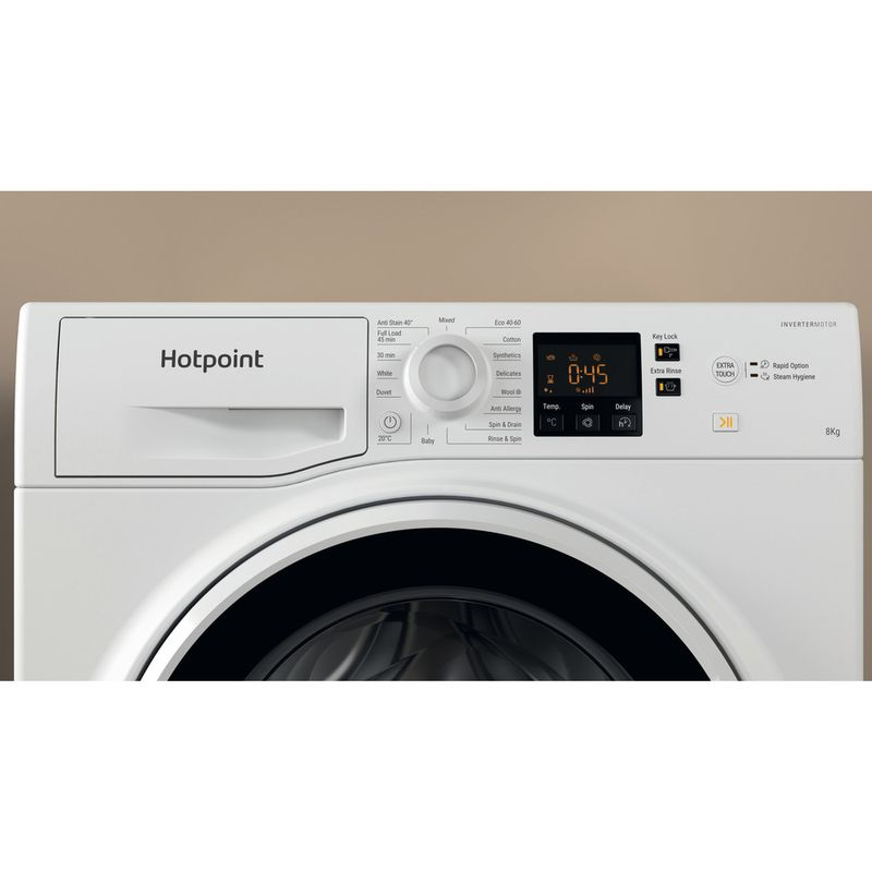 Hotpoint-Washing-machine-Free-standing-NSWA-843C-WW-UK-N-White-Front-loader-D-Lifestyle-control-panel