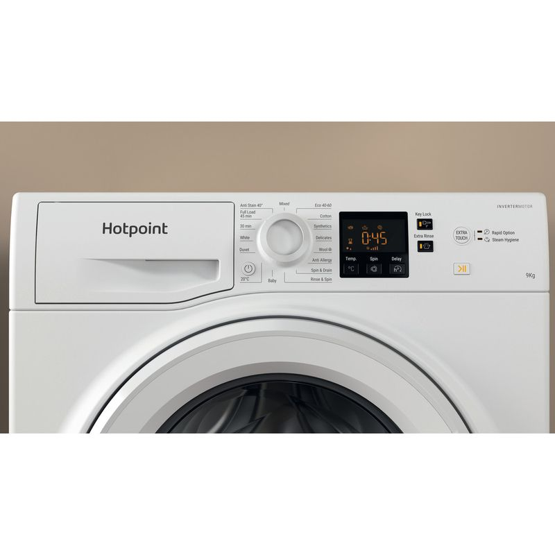 Hotpoint-Washing-machine-Free-standing-NSWF-943C-W-UK-N-White-Front-loader-D-Lifestyle-control-panel