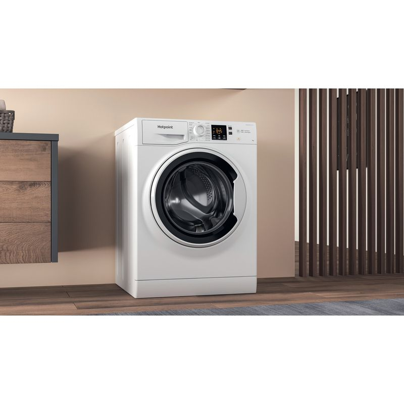 Hotpoint-Washing-machine-Free-standing-NSWA-943C-WW-UK-N-White-Front-loader-D-Lifestyle-perspective