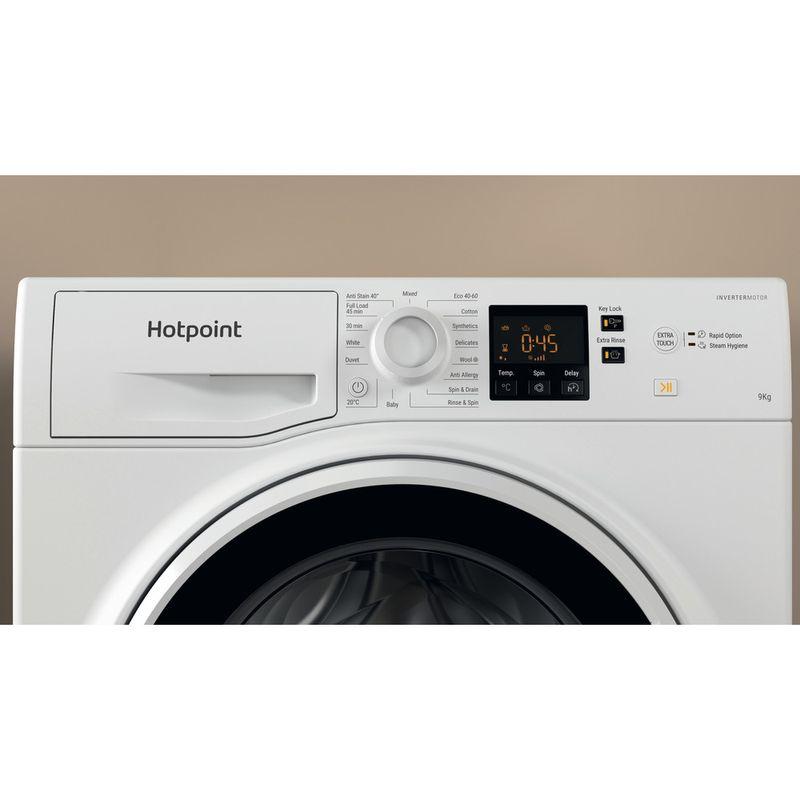 Hotpoint-Washing-machine-Free-standing-NSWA-943C-WW-UK-N-White-Front-loader-D-Lifestyle-control-panel