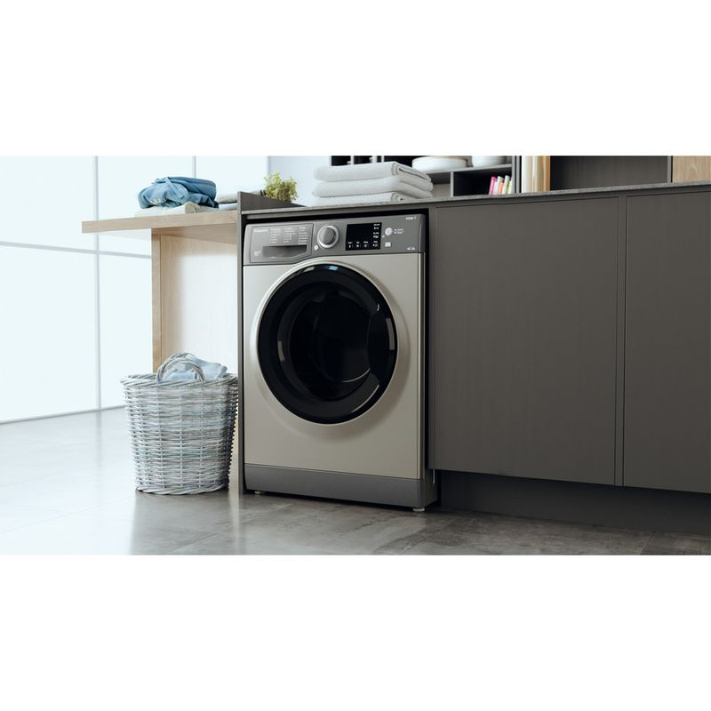 Hotpoint-Washer-dryer-Free-standing-RDG-8643-GK-UK-N-Graphite-Front-loader-Lifestyle-perspective