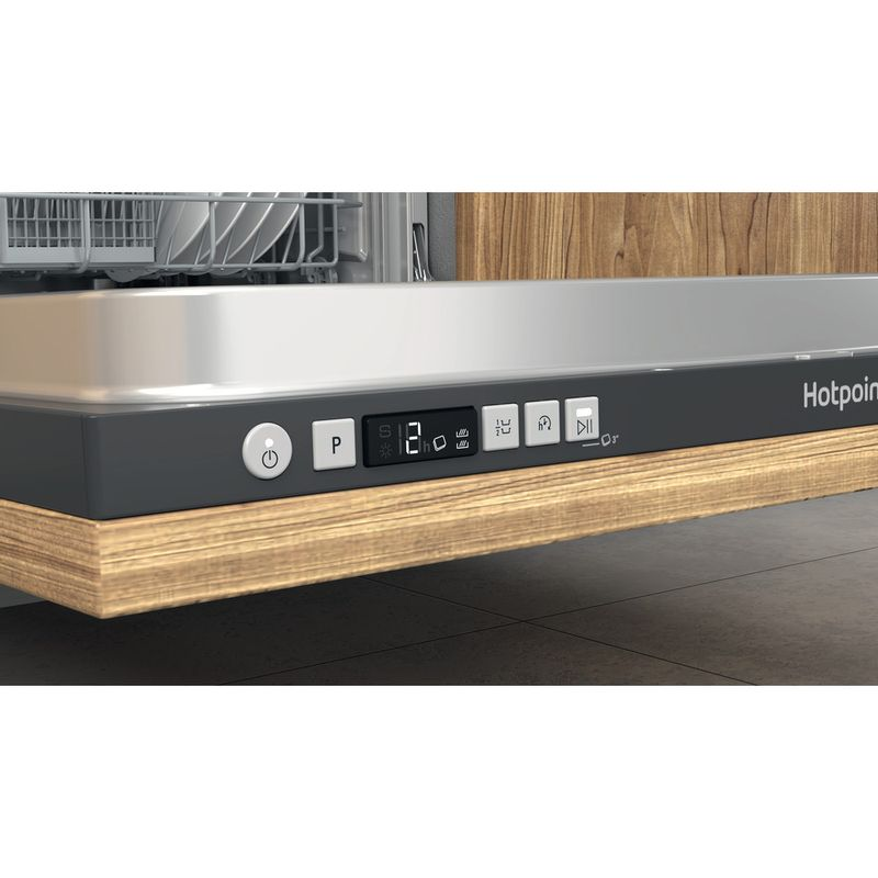 Hotpoint-Dishwasher-Built-in-HIC-3B19-C-UK-Full-integrated-F-Control-panel