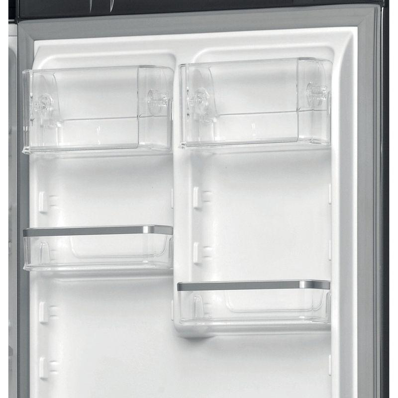 Hotpoint-Fridge-Freezer-Free-standing-H9T-921T-KS-H-2-Black-Inox-2-doors-Drawer