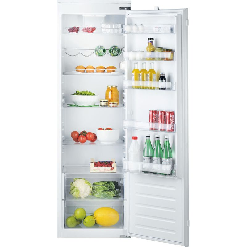 Hotpoint-Refrigerator-Built-in-HS-18011-UK-White-Frontal-open