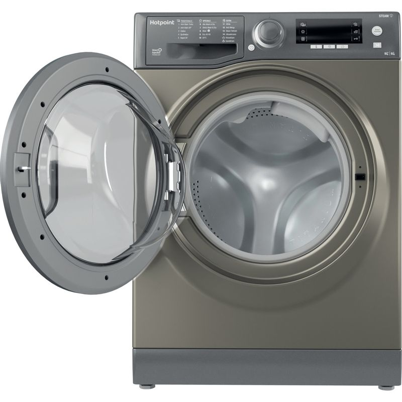 Hotpoint-Washer-dryer-Free-standing-RD-966-JGD-UK-N-Graphite-Front-loader-Frontal-open