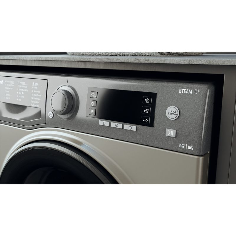 Hotpoint-Washer-dryer-Free-standing-RD-966-JGD-UK-N-Graphite-Front-loader-Lifestyle-control-panel