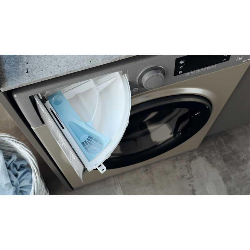 Hotpoint-Washer-dryer-Free-standing-RD-966-JGD-UK-N-Graphite-Front-loader-Drawer