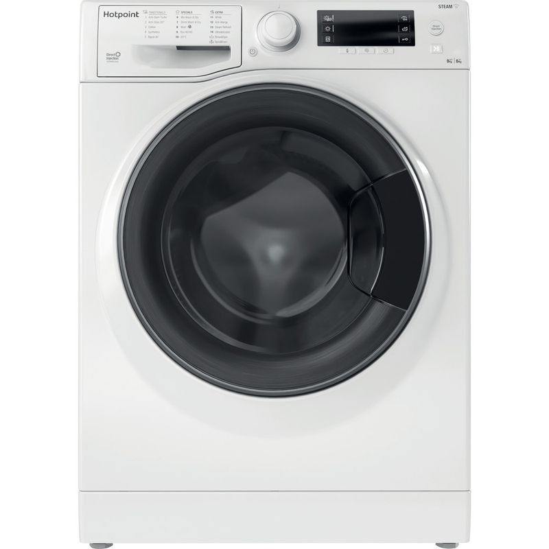 Hotpoint-Washer-dryer-Free-standing-RD-966-JD-UK-N-White-Front-loader-Frontal