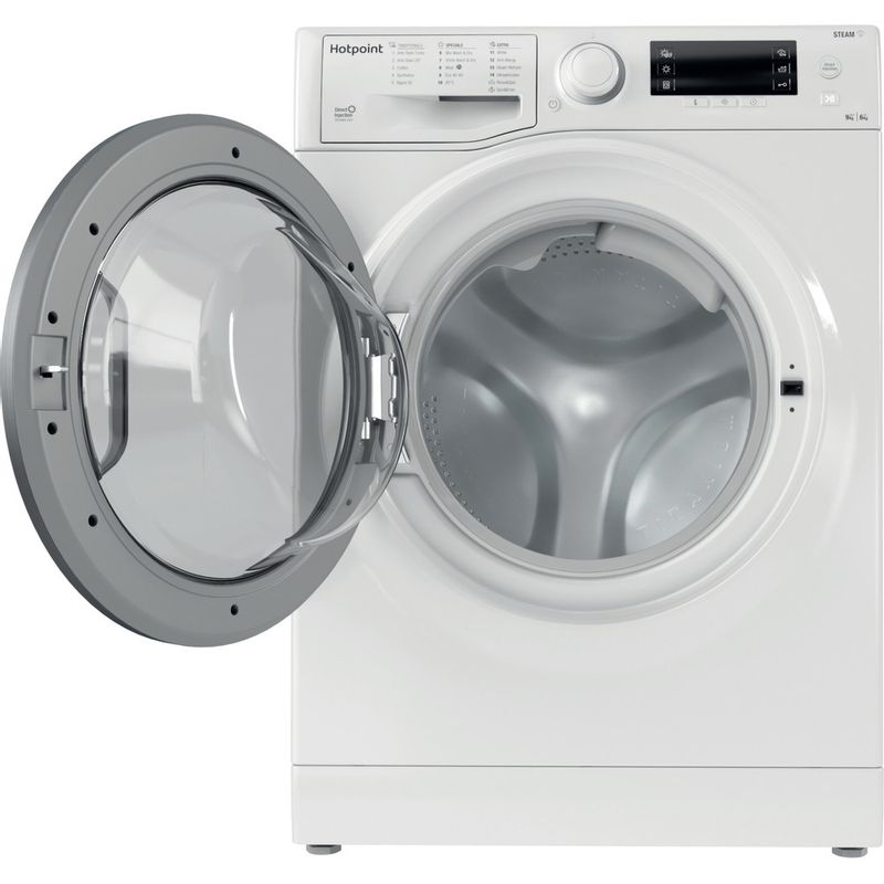 Hotpoint-Washer-dryer-Free-standing-RD-966-JD-UK-N-White-Front-loader-Frontal-open