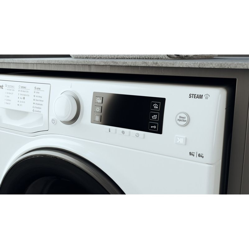 Hotpoint-Washer-dryer-Free-standing-RD-966-JD-UK-N-White-Front-loader-Lifestyle-control-panel