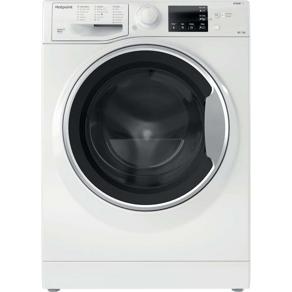 Hotpoint Freestanding Washer Dryer RDGR 9662 WS UK N : discover the specifications of our home appliances and bring the innovation into your house and family.