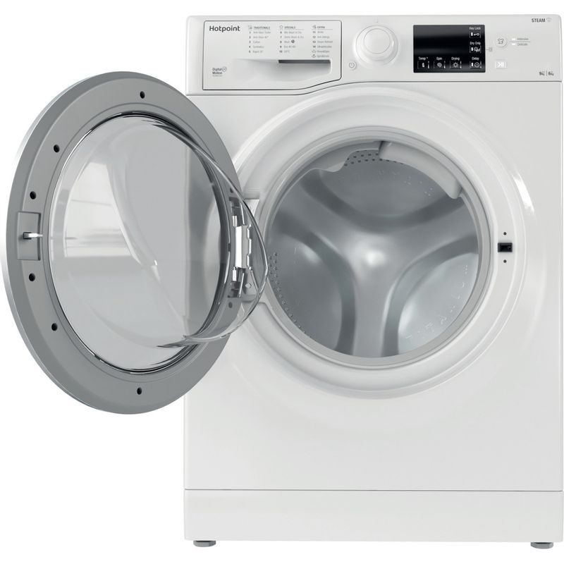 Hotpoint-Washer-dryer-Free-standing-RDGR-9662-WS-UK-N-White-Front-loader-Frontal-open